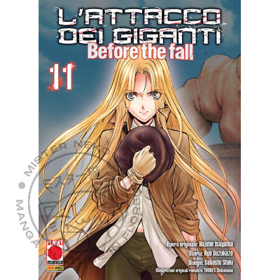 Manga - L'attacco Dei Giganti - Before The Fall 11