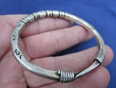 Large Viking  Silver  Bracelet  - Great Relic  9-10th Century AD (436+)