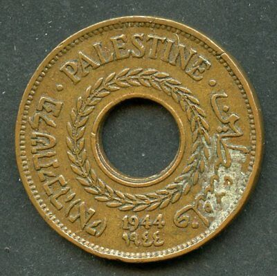 Palestine 1944   5  Mils   Coin You Do The Grading Have Fun Bidding