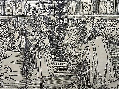 1532 Master of Petrach - Hans Weiditz 1495-1537 - Library, Scriptorium, Books
