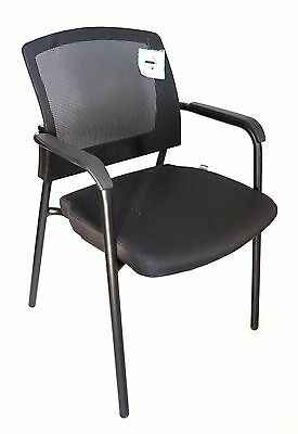 Sutton Mesh Reception Visitor Meeting Room Office Chair with Arms Graded 95%