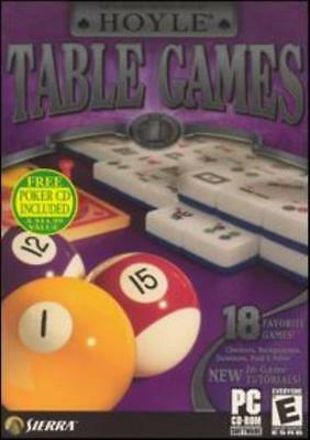Hoyle Table Games PC CD family game collection! Mahjong Word Yacht Gravity Tiles