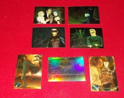 Batman Forever Animaction & Batman Forever Metal Bonus Trading Cards Choose Card