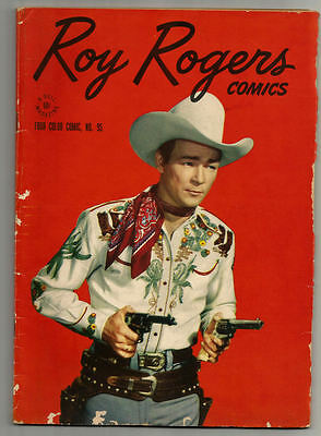 Roy Rogers Comics VG 4 COLOR #95 Dell Inside is in Great condition -Take a Look