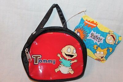 NEW WITH TAGS  1998 VIACOM RUGRATS GREEN  COIN WALLET
