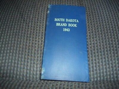 1943 South Dakota Cattle Brand Book 354 Pages Over 3000 Brands