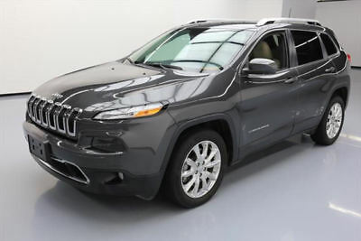 2016 Jeep Cherokee Limited Sport Utility 4-Door 2016 JEEP CHEROKEE LIMITED HTD LEATHER NAV REAR CAM 17K #136114 Texas Direct