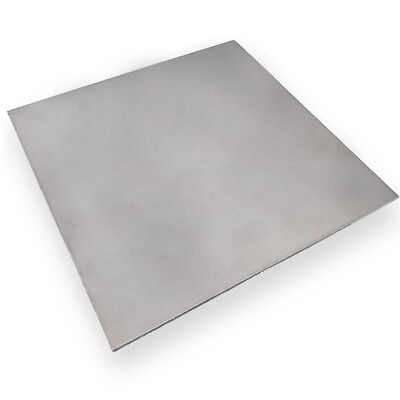 "US Stock 2mm x 5"" x 5"" 304 Stainless Steel Fine Polished Plate Sheet"