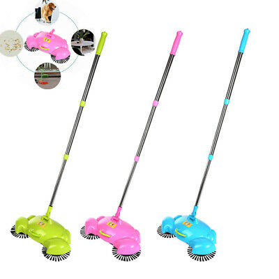 Home Cleaning Sweeper Cleaner Mop Tools Hand Push Floor Dust Sweeping Broom US