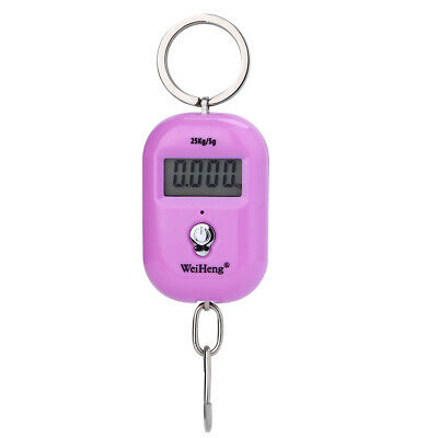 Shipping LCD Digital Electronic Fishing Hanging Scale Weight 25kg/5g 3 Colors