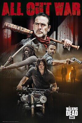 The Walking Dead - Tv Show Poster / Print (Season 8 Character Collage)