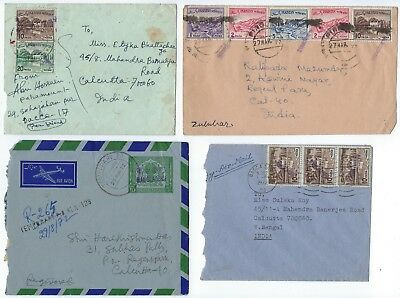 Bangladesh Pakistan 1971 1972 Specialized Collection On 18 Commercial Cover With