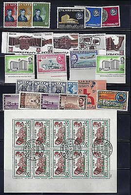 Ethiopia 1930 60 Collection Of 130 Most Mint Never Hinged Few Used Include Sever