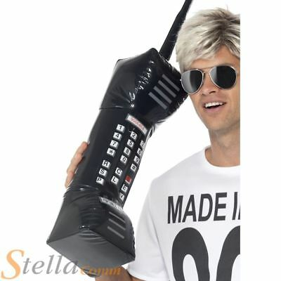 Giant Inflatable 80s Style Mobile Phone Fancy Dress Accessory