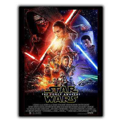 STAR WARS The Force Awakens Movie METAL SIGN WALL PLAQUE Film Poster Print
