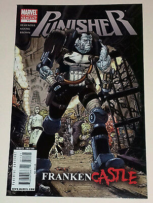 Punisher 11 Franken Castle 2nd print variant Marvel Comics