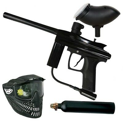 Azodin Centurion Paintball Markierer  CO2 Set - black