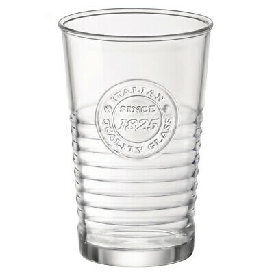 Officina 1825 Water Tumblers 300ml - Set of 6 - Vintage Highball Glasses