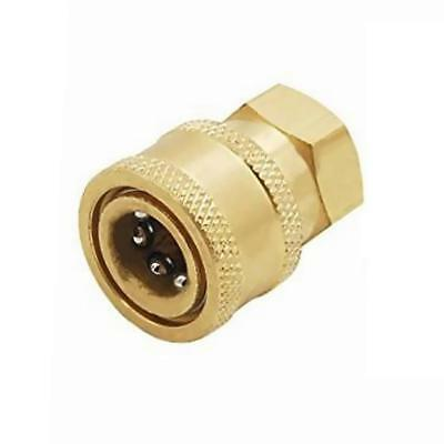 Pressure Washer Quick Release Socket 12mm to 1/4 Female Brass Connector