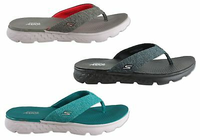 New Skechers On The Go 400 Vivacity Womens Comfortable Flat Thong Sandals