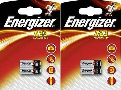4 Energizer LRV08 MN21 23A L1028 A23 23AE 12v wireless door bell chime Battery