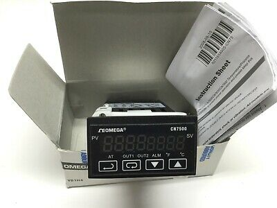 Omega CN7523 Temperature Process PID Controller, 100-240VAC, Voltage/Relay Out