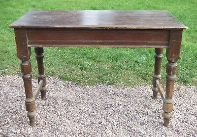 Vintage Rustic Pine Table ~ Ideal for painting or restoration project!