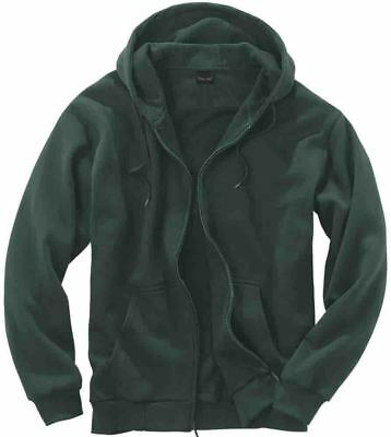 Rivers End 60/40 Thermal Lined Zip Hd - Green - Unisex