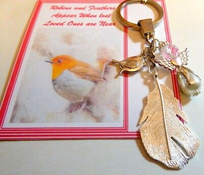 Robins Appear when Angels are Near Feathers Appear when loved ones are near gift