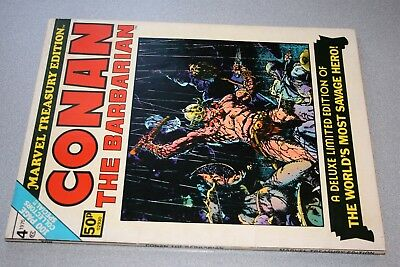 Conan The Barbarian Marvel Treasury Edition_1975_Classic Over-Size Barry Smith!
