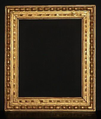 "Early C20th Carved Giltwood Picture Frame. Sight Size 17 1/4"" x 14"". Re-Gilded."