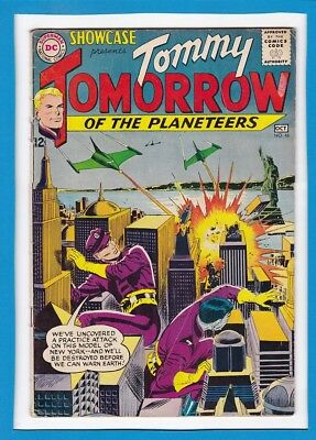 Dc Showcase #46_Oct 1963_Fine Minus_Tommy Tomorrow Of The Planeteers_Silver Age!
