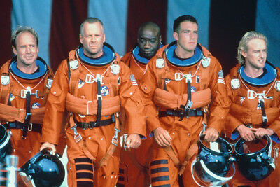 Armageddon Bruce Willis & The Guys 24X36 Poster Print