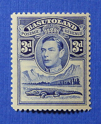 1938 BASUTOLAND 3d SCOTT# 22 S.G.# 22 UNUSED                             CS20606