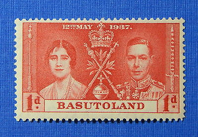 1937 BASUTOLAND 1d SCOTT# 15 S.G.# 15 UNUSED                             CS20599