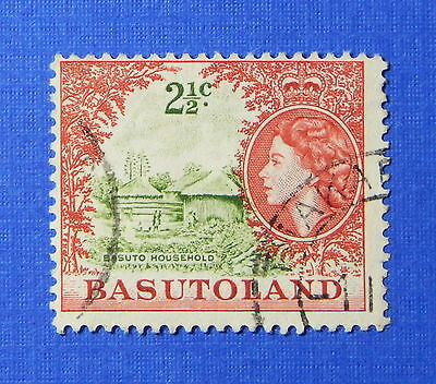 1961 BASUTOLAND 2 1/2c SCOTT# 75 S.G.# 72 USED                           CS20267