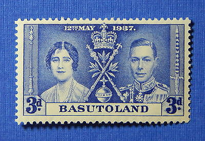 1937 BASUTOLAND 3d SCOTT# 17 S.G.# 17 UNUSED                             CS20601