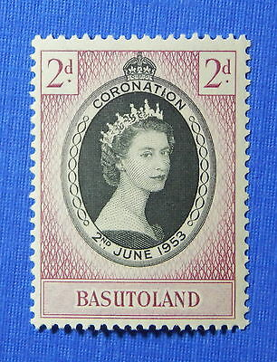 1953 BASUTOLAND 2d SCOTT# 45 S.G.# 42 UNUSED                             CS20624