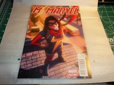 Ms. Marvel #2 Jorge Molina Variant Cover 1:50 2014 Comic Book my opinion NM+