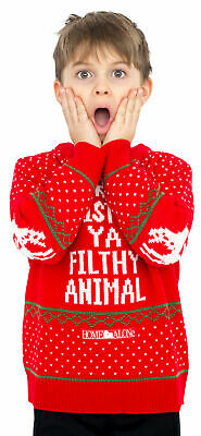 Children Home Alone Merry Christmas Ya Filthy Animal Ugly Christmas Sweater