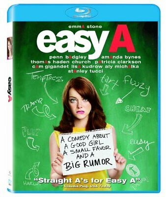 Easy A [Blu-ray] NEW!