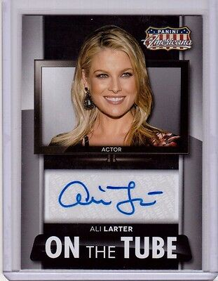ALI LARTER 2015 Americana Auto Autograph Signed Heroes Legends Legally Blond