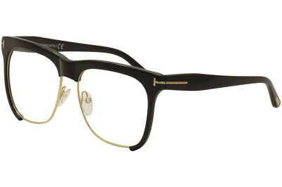 090294b77f07 Tom Ford Women s Eyeglasses Thea TF366 TF 366 001 Black Horn Optical Frame  57mm