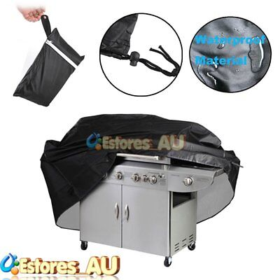 190cm BBQ Cover 4 Burner Waterproof Outdoor UV Charcoal Barbecue Grill Protect