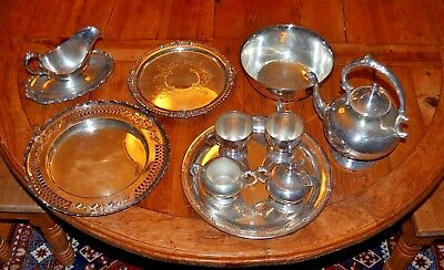 Beautiful Large Job Lot Antique & Vintage Silver Plated Items