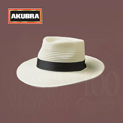 AKUBRA Hats Aussie Icon Premium Hat Collection Country Club Cream Colour