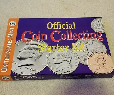 Whitman United States Mint Coin Collecting Starter Kit Everything You Need New