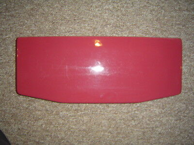 American Standard F 4043 F4043 toilet commode tank lid cover top RED LOGANBERRY
