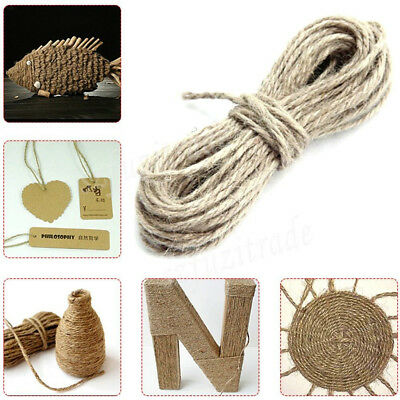 Natural Baker Coloured Twine Christmas Holiday Wedding Bundle String 100m