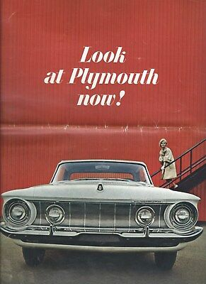 Auto Brochure - Plymouth - Fury Belvedere Savoy Product Line - 1962 (A1280)